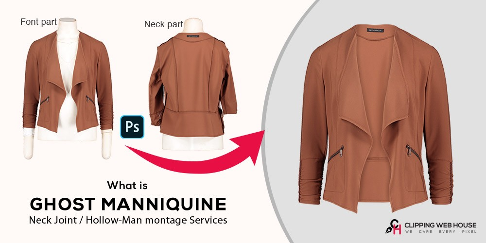 What is Ghost Mannequin / Neck Joint / Hollow-Man montage Services